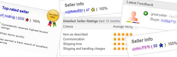 eBay értékelések: Ha ilyenet látsz, bizalommal vásárolhatsz!