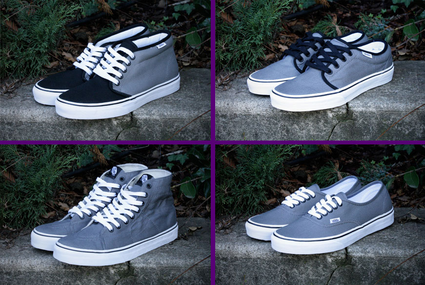 Klasszikus Vans cipők szürkében sneakerbox.hu blog