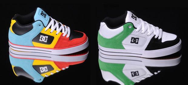 Ebben a két színben itthon is megveheted a DC Radar cipőt