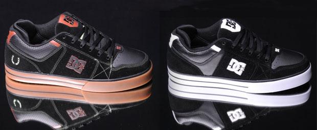 A DC Tactic black/gum és black/white színekben