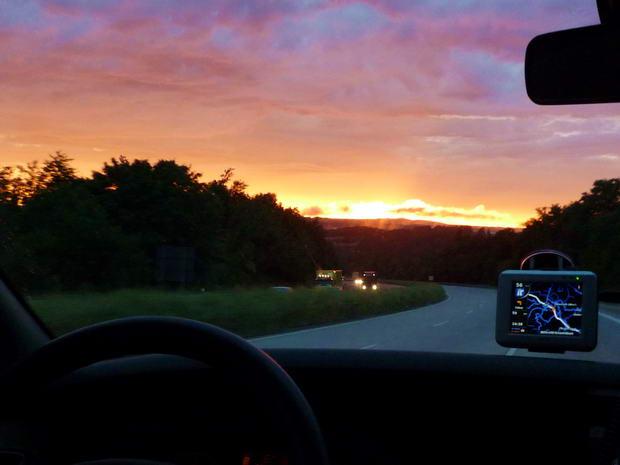 Aztán csak túléltük, gyönyörű naplemente
