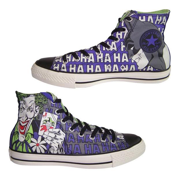 Converse x Batman Hi shoes white