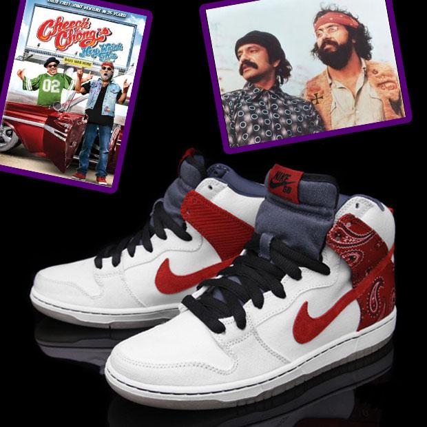Cheek and Chong Nike SB Dunk
