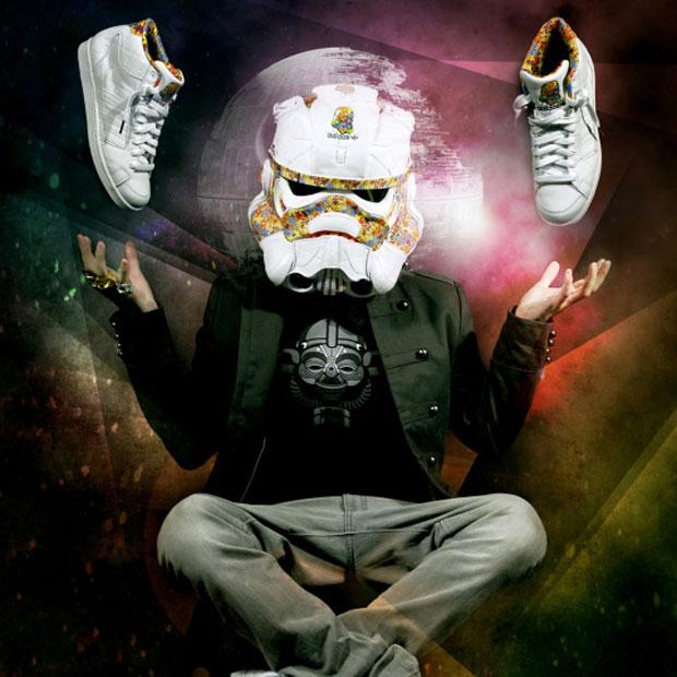 Freehand Profit: adidas cipőből Csillagok Háborúja rohamosztagos sisak