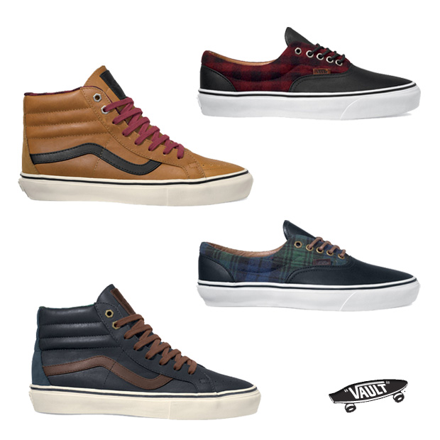 Vans Leather and Flannel pack
