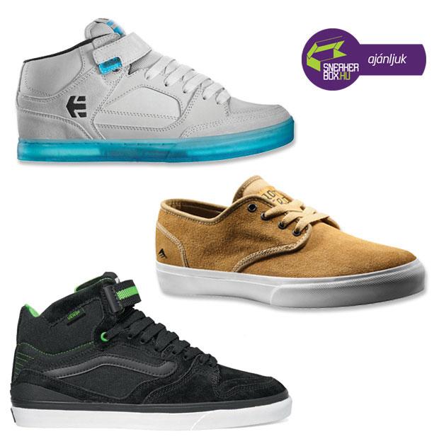 2012 tavasz-nyár TOP3 cipőszemle a The Lab, Speed és Zone üzletekből
