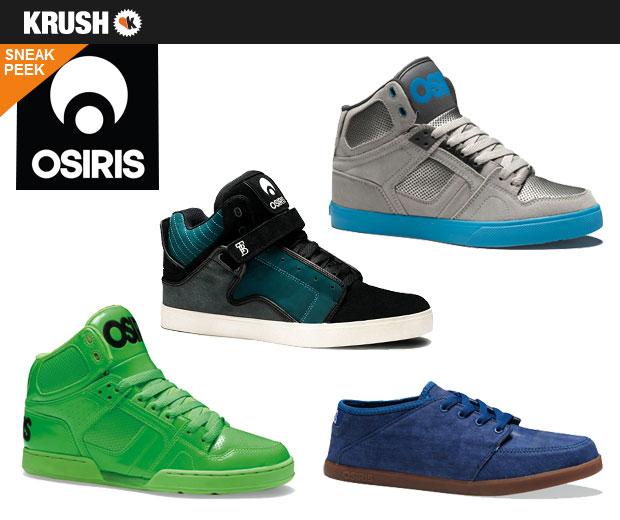 Osiris Sneak Peak @ krush.com