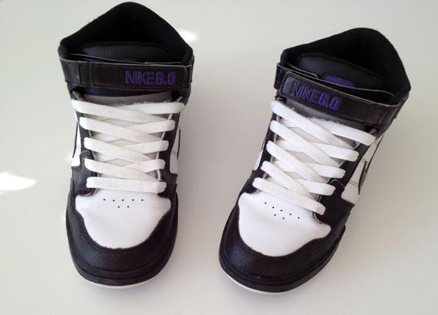 És ismét bevetésre készen a patyolat tiszta cipők