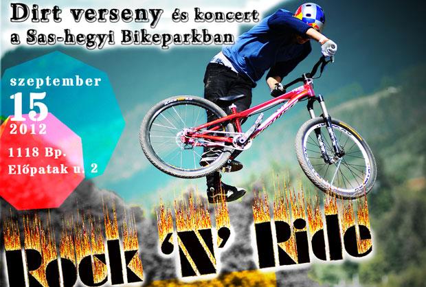 Rock 'n' Ride @ Sashegy (2012.09.15)