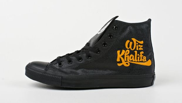 Converse Chuck Taylor All Stars for Wiz Khalifa by Brush Footwear