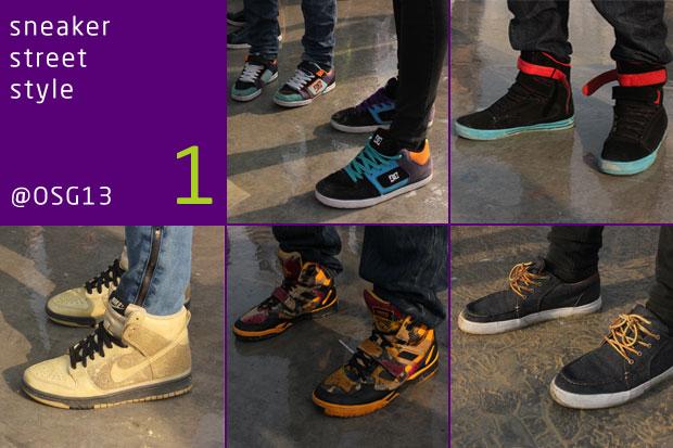 sneaker street style @ OSG13 - Az első adag a hatból