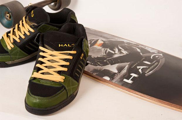 Globe x Halo 4 cipő és cruiser deszka