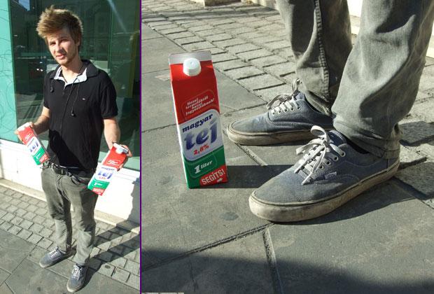 Sneaker Street Style @ Erzsi: Dani Vans Era cipőben