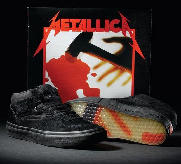 Vans x Metallica Half Cab 'Kill Em All'