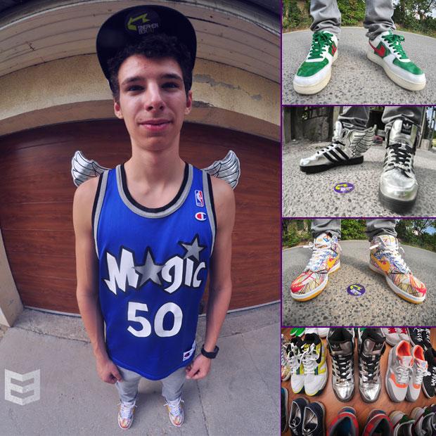 Bognár Zsombi interjú és cipőcsekk @ Üröm City
