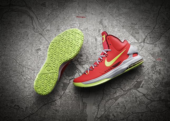 Megérkezett Kevin Durant ötödik Nike modellje a KD V 6375643226