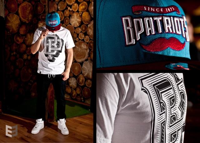 BP Clothing BP Shop BPatriots snapback és Block Tee póló