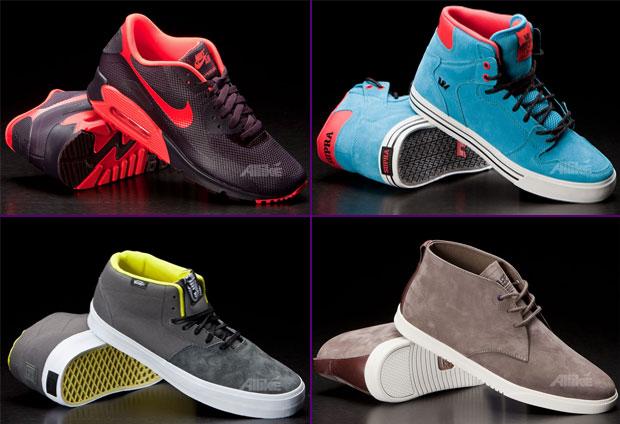 Mini cipőszemle az Allike választékából: Air Max, Vaider, Cab Light és egy Clae Strayhorn