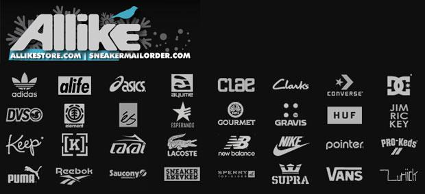 Allike Store sneaker választék - van miből csemegézni :)