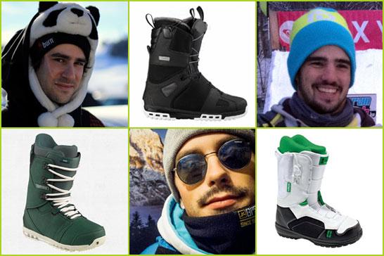 Bazsi, Ádi és Matyi kedvenc snowboard modelljei