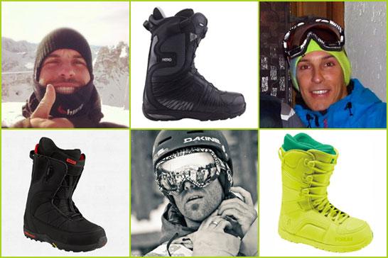 Gézu, Jani és Zaza kedvenc snowboard cipői