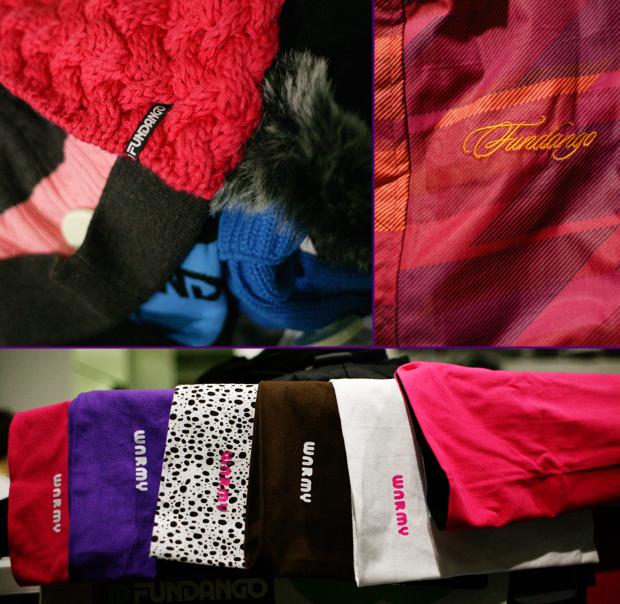Fundango üzlet Westend téli kollekció kabát pulcsik