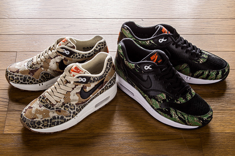 Atmos x Nike Air Max One Animal Camo Pack (katt a galériához!)