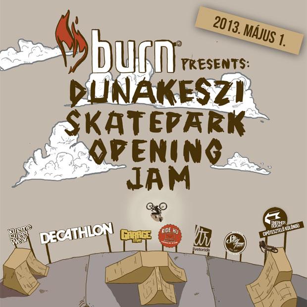 Dunakeszi Skatepark megnyitó 2013. május 1. - sneakerbox cipőtesztelő különdíjjal