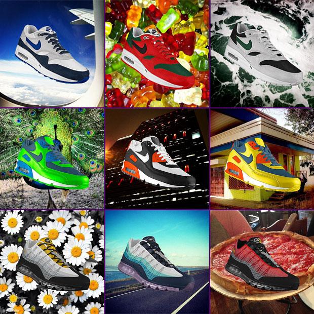 A Nike PhotoiD-val Instagram képeid színvilága ihletheti meg egyedi Air Max  1 a805ea3974