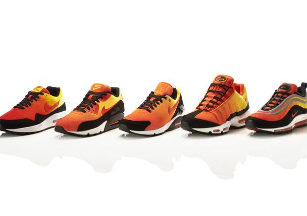 Érkezik az itthoni üzletekbe is a Nike Air Max Sunset Pack! 0eb4367f6f