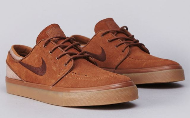 Nike SB Zoom Stefan Janoski Low – Light Redwood / Team Red