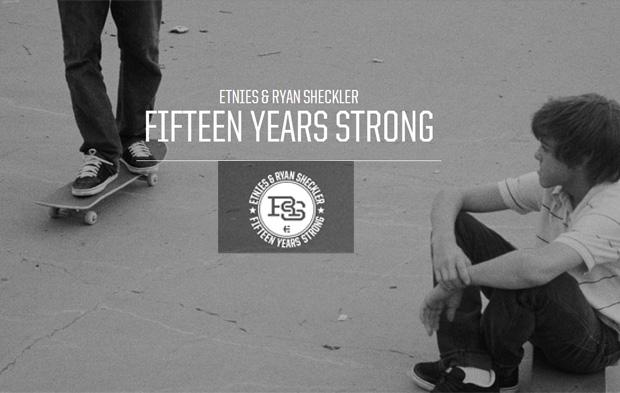 Ryan Sheckler 15 éve az Etniesnél