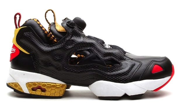 Reebok Pump Fury Black 'n Gold
