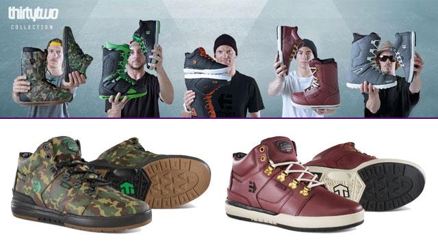 Etnies x ThirtyTwo Signature Series cipők és snowboardbakancsok