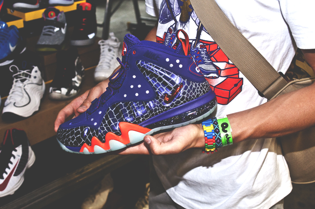 Zsombi @ KRG cipőszemle: Phoenix Suns Barkley Posite Max