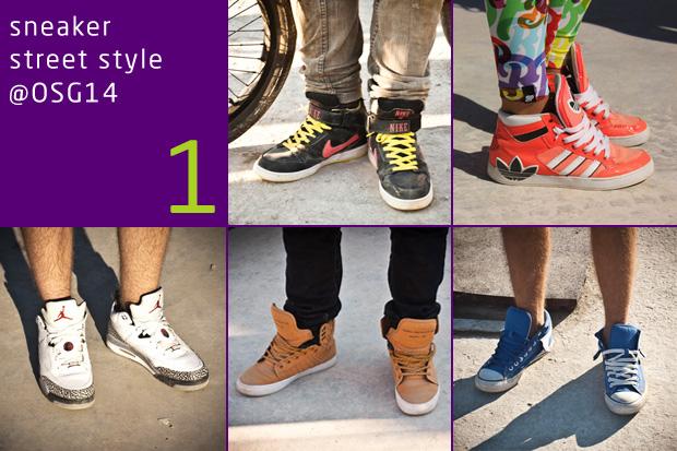 Sneaker Street Style @ OSG14 1.