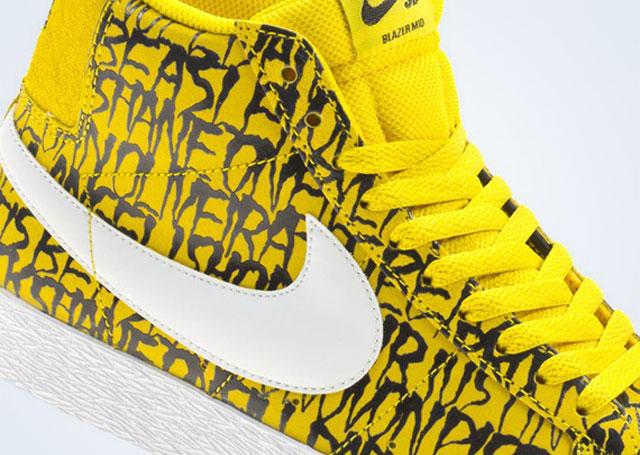 Neck Face x Nike Blazer - a legutóbbi Nike kollab
