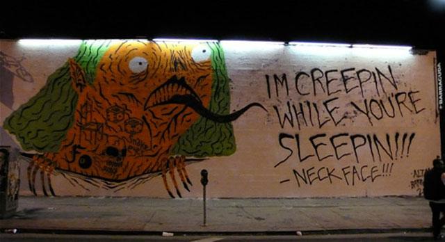 Neck Face a falon - nem irigylem a lelkivilágát