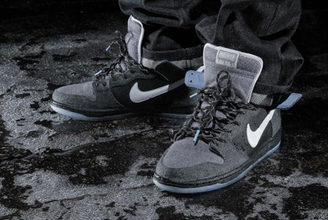 Téli kollab: Premier x Nike Dunk Hi Pro Petoskey mintával