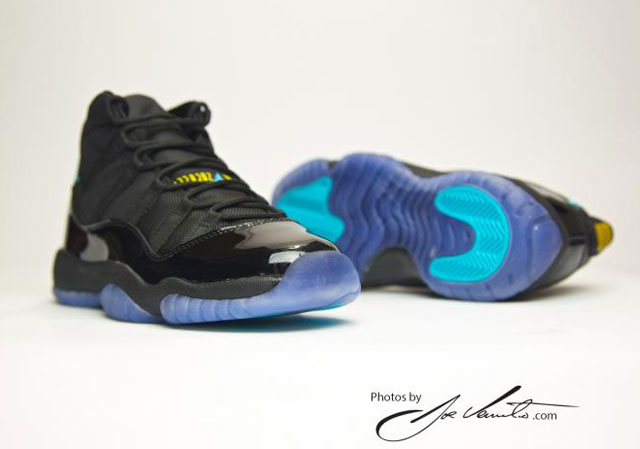 Air Jordan 11 Gamma Blue (Fotó: Joe Venuto)