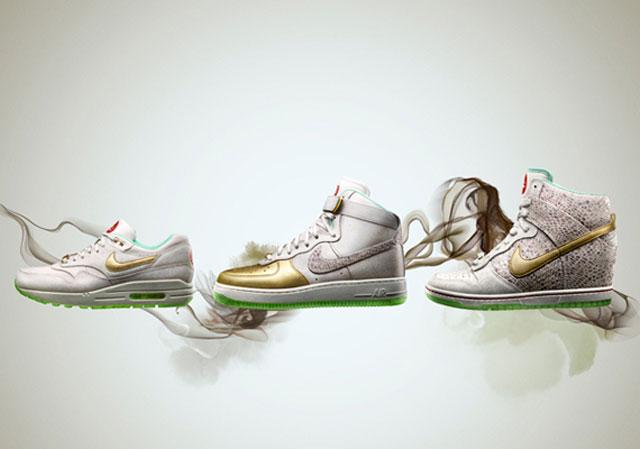 Nike AM1, AF1 és Dunk Sky Hi cipők a hölgyeknek a 'Year Of The Horse - A Ló Éve' jegyében