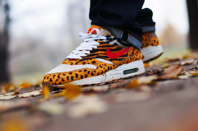 Nike Air Max 1 Supreme (Animal) Fotó: Kamil Baks // sneakeraddict.com