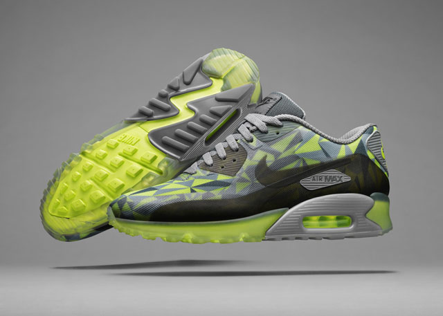 Nike Air Max 90 Hyperfuse Ice Volt/Mica Green (631748-700)