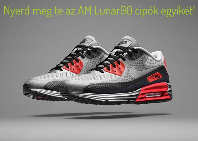 Jelentkezz most a Nike Air Max Lunar90 nyereményjátékba! 456f487897