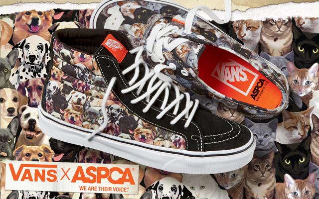 Vans x ASPCA állatvédő minikollekció