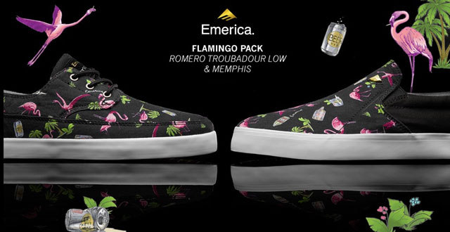 Emerica Flamingo Pack: Memphis és Troubadour Low