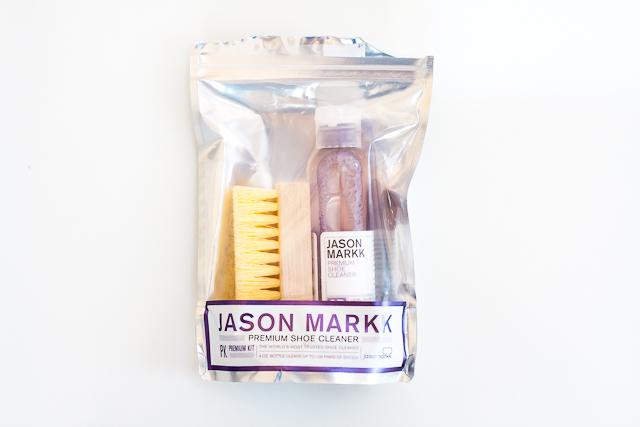 Jason Markk cipőtisztító teszt