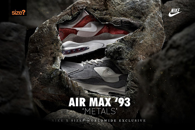 Nike Air Max 93 Metals a size?-tól