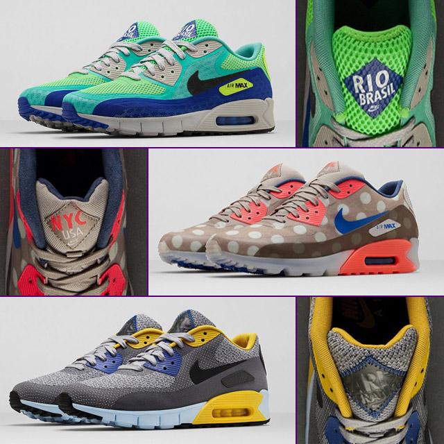 Nike 'City Pack' Air Max érkezések sneakerbox.hu blog