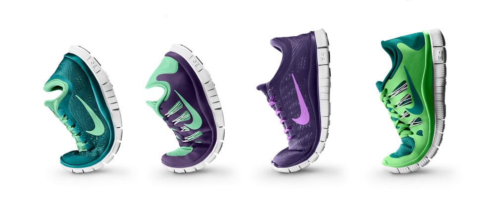 Nike Free 3.0 és Nike Free 5.0 modellek